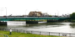 新中川に架かる橋(その1)